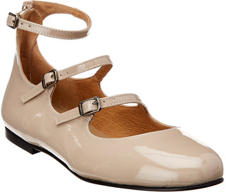 French Sole Portman Patent Flat