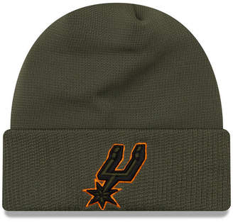 New Era San Antonio Spurs Tip Pop Cuffed Knit Hat
