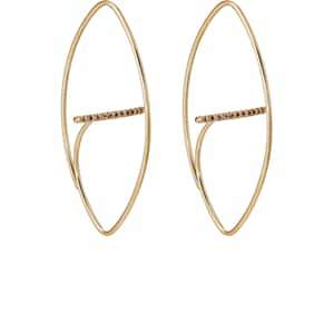 Hirotaka Women's Gossamer Floating Earrings - Gold