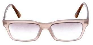 Lanvin Crystal-Embellished Square Sunglasses