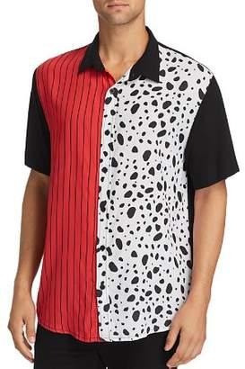 nANA jUDY x Disney Spark Short-Sleeve Color-Block Regular Fit Shirt
