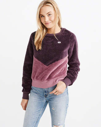 Abercrombie & Fitch The A&F Sherpa Sweatshirt