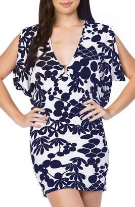 Trina Turk Bali Blossoms Cover-Up Tunic
