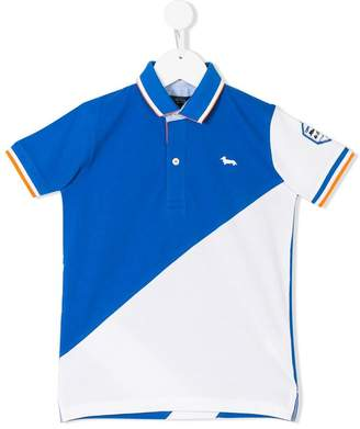 Harmont & Blaine Junior colourblock polo shirt
