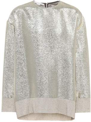 Stella McCartney Lurex® metallic top