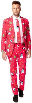 DAY Birger et Mikkelsen Opposuits Men's OppoSuits Slim-Fit Christmaster Novelty Suit & Tie Set