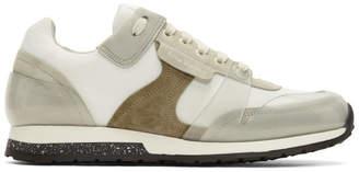 Acne Studios White Jimmy Label Sneakers