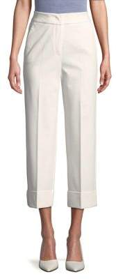 Marella Cropped Wide-Leg Pants