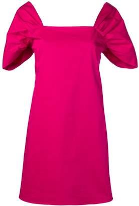 Theory draped sleeve dress