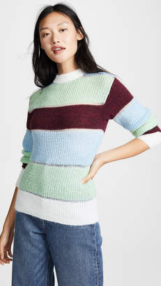 PH5 Massimo Mohair Color Blocked Pullover