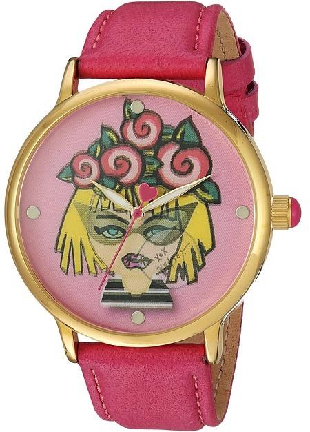 Betsey JohnsonBetsey Johnson - BJ00496-53 - Emoji Face Watches