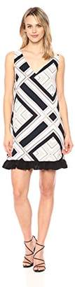 Cooper & Ella Women's Multi Color Tribal Print Agnes Dress