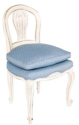 French Country Slipper Chair