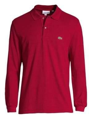Lacoste Pique Polo Shirt