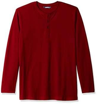 ROBUST Men's Full Sleeve Henley T-Shirt (Size-)