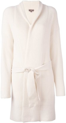 N.Peal cashmere ribbed cardi-coat $859.20 thestylecure.com