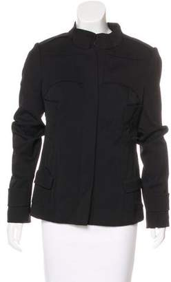 Narciso Rodriguez Wool-Blend Structured Jacket