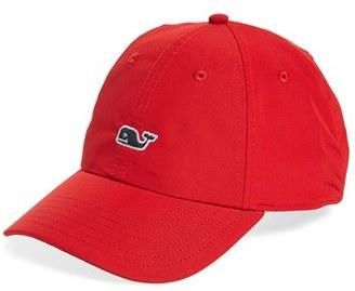 Men's Vineyard Vines Whale Performance Baseball Cap - Red $36 thestylecure.com