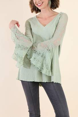 Umgee USA Bell Sleeve Top