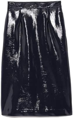 Mila Owen (ミラ オーウェン) - Mila Owen エナメルストレートスカート
