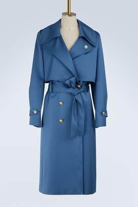 Lanvin Satin trench-coat