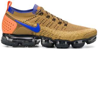 Nike 942842203AIRVAPORMAXFLYKNIT2 GOLDEN BEIGE BLUE GOLD Natural (other)->Rubber