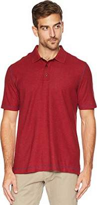 Robert Graham Men's Messenger Short Sleeve Cotton Modal Polo