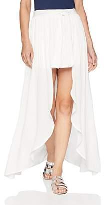 Jack by BB Dakota Junior's Beatrice Solid Wrap Skirt