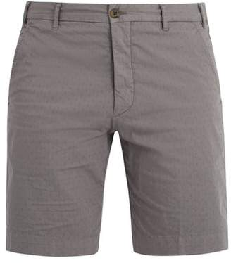 J.w.brine J.W. BRINE Chriss stretch-cotton jacquard chino shorts