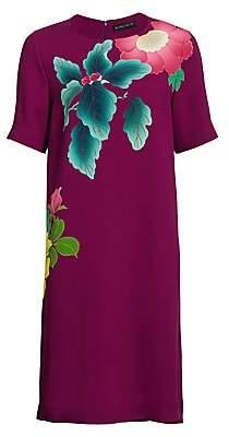 Etro Women's Japanese Floral T-Shirt Dress