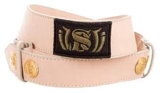 Sonia Rykiel Embellished Leather Belt