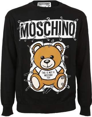 Moschino Bear Motif Jumper