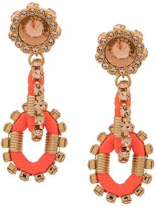 DSQUARED2 Backyard Punk Crystal earrings
