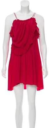 Isabel Marant Silk Ruffled Dress