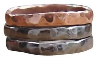Elena Jewelry Concepts Stackable Rhodium Plated Silver II Copper I