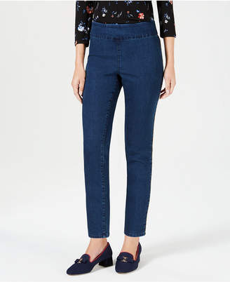 Charter Club Cambridge Skinny Pull-On Pants
