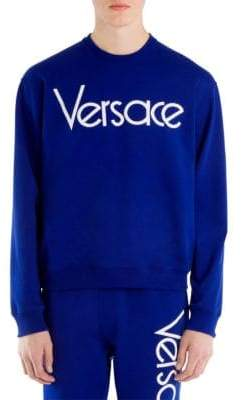 Versace Cotton Logo Sweatshirt