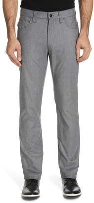 Emporio Armani Flat Front Five Pocket Trousers
