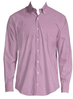 Peter Millar Mini Performance Button-Down Shirt
