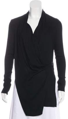 Helmut Lang Long Sleeve V-Neck Tunic