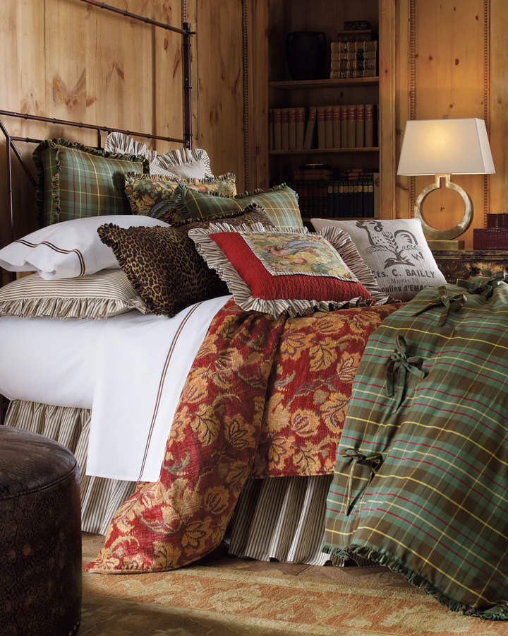 """Horchow French Laundry Home """"Cowgirl"""" Bed Linens"""