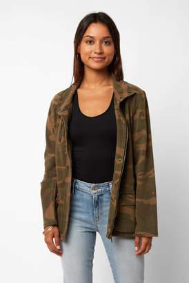Blank NYC Camo Knit Jacket