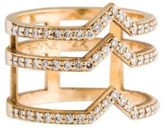 Paige Novick Phyne by 14K Stacked Diamond Ring