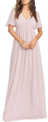 Show Me Your Mumu Emily Empire Waist Gown
