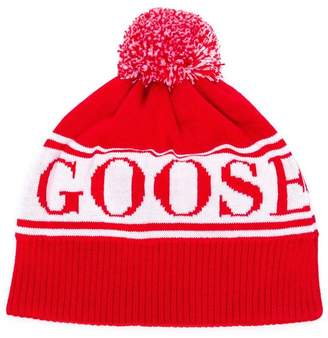 Canada Goose Kids knitted logo beanie