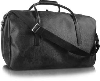 Alviero Martini 1a Prima Classe - Geo Black Double Compartment Zip Travel Bag