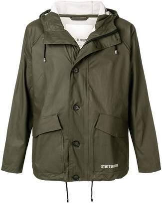 Stutterheim short buttoned coat