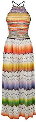 Missoni Mare Striped Backless Maxi Dress