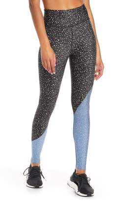 Soul by SoulCycle Diagonal Splice High Waist Tights