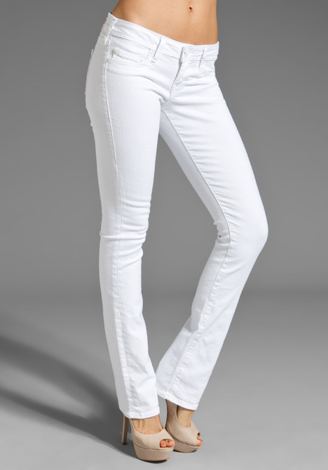 True Religion Christina Phantom Straight Leg